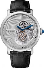 Rotonde de Cartier Flying Tourbillon umgekehrte Zifferblattuhr